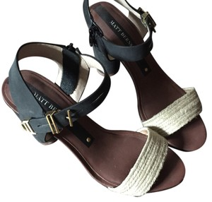 Matt Bernson Black Sandals