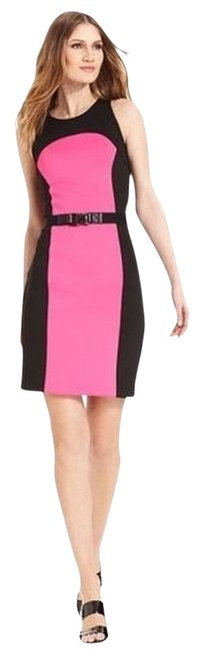 Preload https://item2.tradesy.com/images/michael-by-michael-kors-dress-neon-pinkblack-836396-0-0.jpg?width=400&height=650