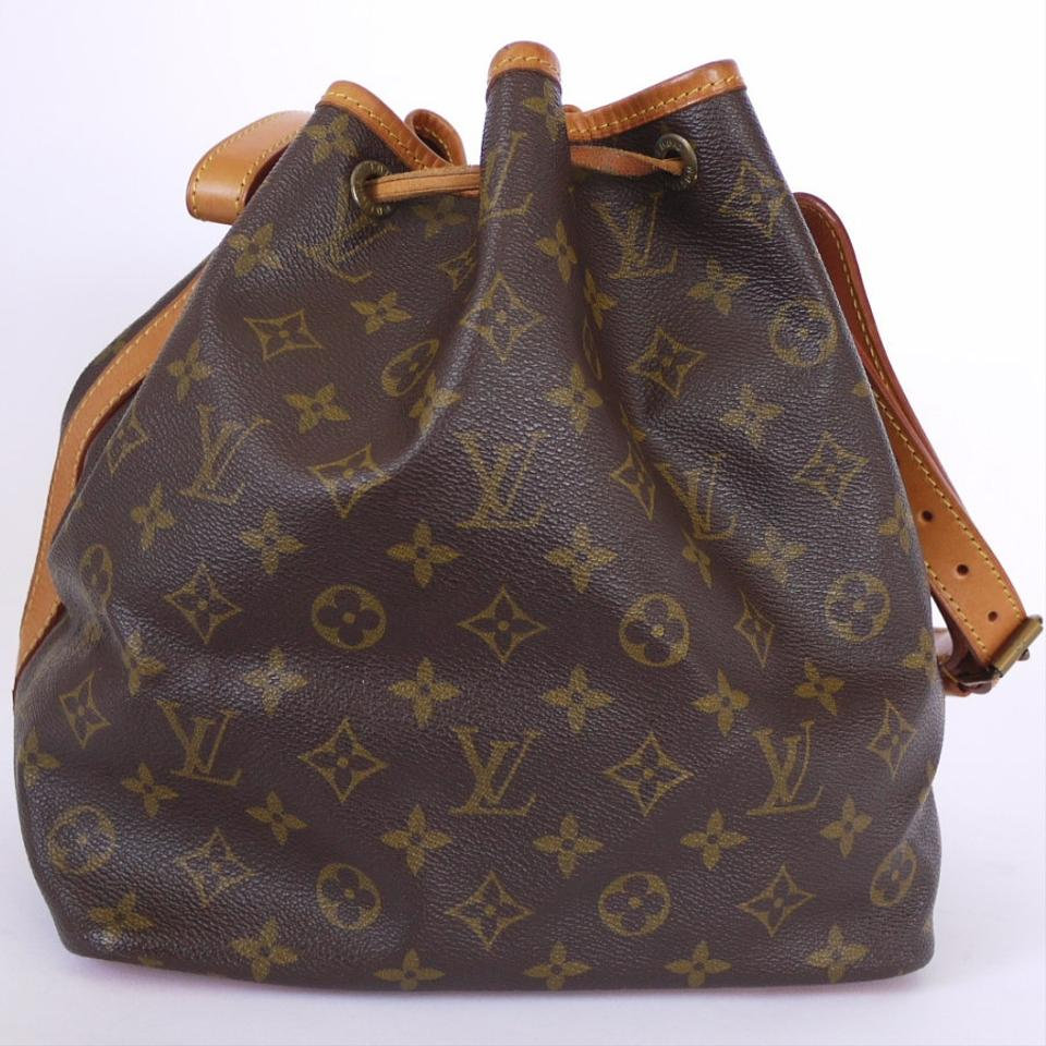 Louis Vuitton Monogram Petit Noe Shoulder Bag Vintage