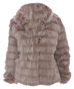 Betsey Johnson Leopard Leopard Print Faux Fur Fur Swing Animal Print Cheetah Fur Nwt Classic Fur Coat