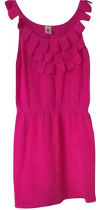 short dress Pink on Tradesy