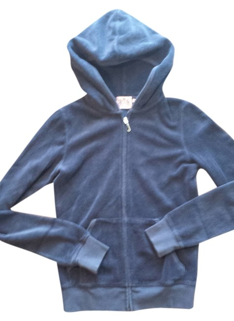 Preload https://img-static.tradesy.com/item/836942/juicy-couture-blue-terry-cloth-hoodie-activewear-size-2-xs-0-0-650-650.jpg