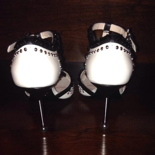 Prada Black & White Pumps