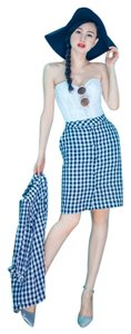 Other Modern & Old vintage retro limited edition English gingham check blue suit (SIZES 0,2,4,6,8,10,12...)
