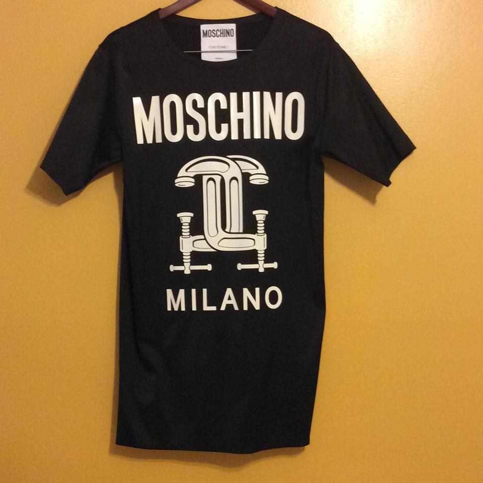 16caab8424c7 Moschino short dress Black 2nd Story Short Sleeve Graphic T-shirt on Tradesy  Image 0 ...