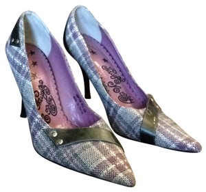 Naughty Monkey Light purple & gray Pumps