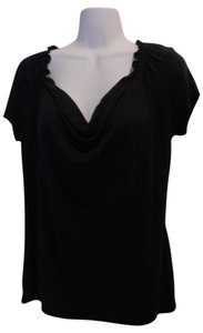 Tahari Tahairi Soft T Shirt Navy Blue