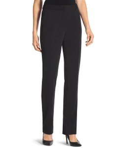 Chico's Seamed Trouser Short Length Trouser Pants Black