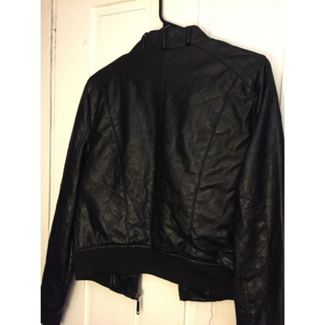 Mad rag Blac Leather Jacket