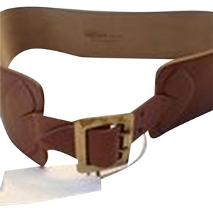 Alexander McQueen ALEXANDER MCQUEEN NWT WOMEN'S BROWN LEATHER BELT