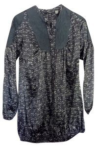 Daryl K Long Tunic Top Blue