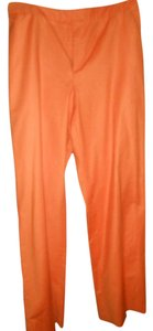 Ellen Tracy Trouser Pants Orange