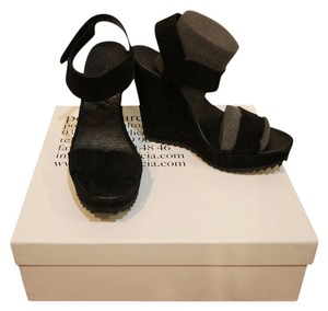Pedro Garcia Wedge Virgie Black Wedges