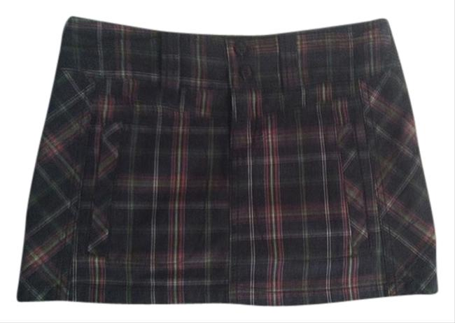 Tildon Plaid Schoolgirl Mini Nordstrom Gray Grey Pink Green Pockets Mini Skirt