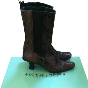 Donald J. Pliner Brown Boots