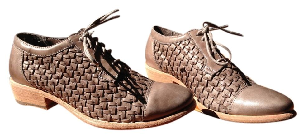 Frye Taupe Carson Woven Oxford Oxford Woven Boots/Booties 70bc3a