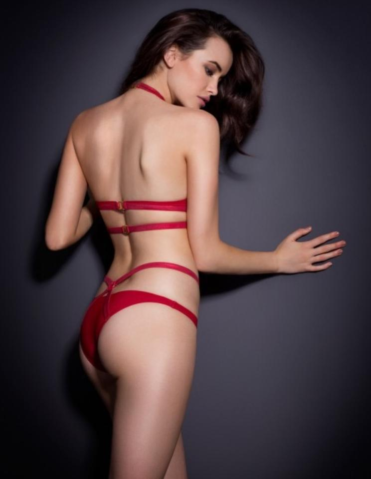 Agent Provocateur Dark Red Shelby Bikini Set Size 6 (S) - Tradesy cd6f877b5