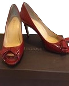 Enzo Angiolini Heels Red Pumps