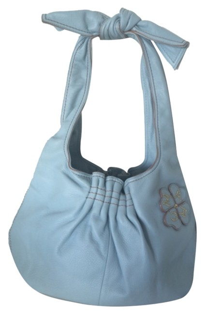 Item - By Blue Leather Hobo Bag