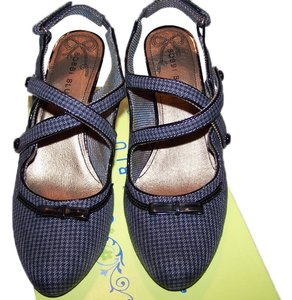 Bobbi Blu blk/grey Wedges