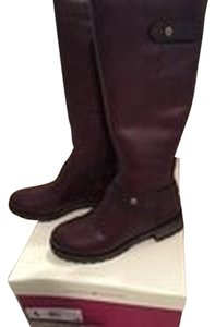 Naturalizer Leather Riding Fall Brown Boots