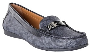 Coach 7.5 Smoke/black Flats