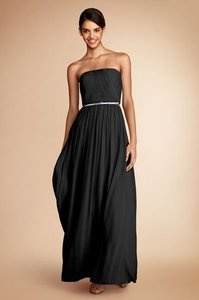 Donna Morgan Black Emily Dress