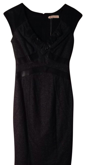 Preload https://img-static.tradesy.com/item/837924/rebecca-taylor-dark-charcoalblack-leather-patched-cocktail-dress-size-0-xs-0-0-650-650.jpg
