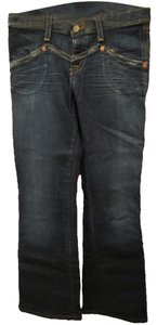 Hudson Jeans Designer Quality Figure Flattering Comfortable 28 Boot Cut Jeans-Medium Wash