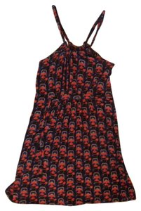 French Connection short dress Multi Print Sleeveless Halter on Tradesy