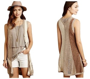 Anthropologie Ewyn Knit Vest Sweater