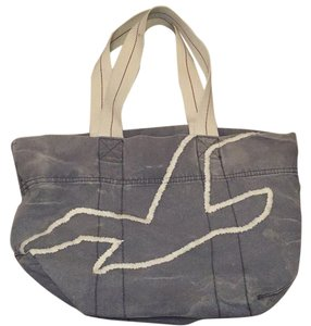 Hollister Navy Beach Bag