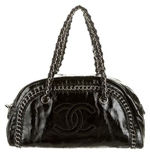 Chanel Bowling Luxe Ligne Shoulder Bag