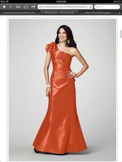 Preload https://img-static.tradesy.com/item/83811/alfred-angelo-orange-7216-formal-bridesmaidmob-dress-size-10-m-0-0-540-540.jpg