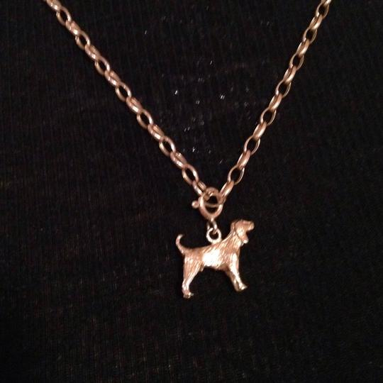 Other Yellow Gold 14KT Dog Charm