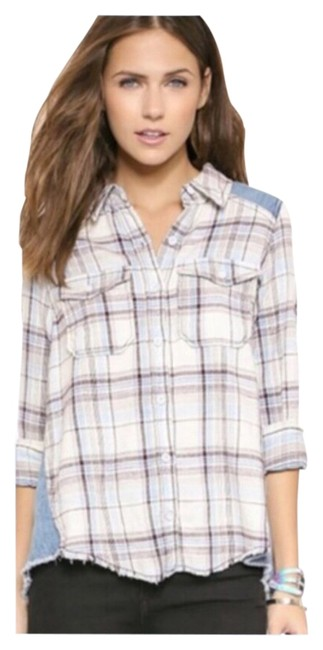 Preload https://img-static.tradesy.com/item/8381869/free-people-swan-combo-xs-boho-button-up-button-down-top-size-2-xs-0-5-650-650.jpg