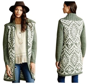 Anthropologie Walden Stitch Cardigan By Sweater