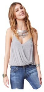 Free People Top Heather Gray