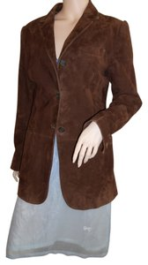 Dolce&Gabbana Leather Italy Brown Leather Jacket