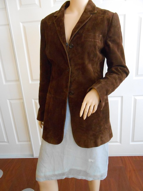 Dolce&Gabbana Italy Brown Leather Jacket