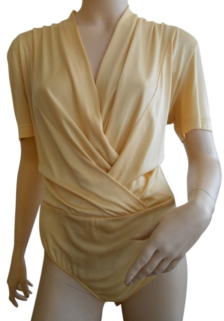Escada Silk Germany Top Yellow
