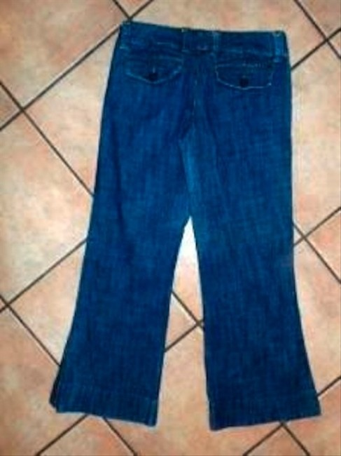 ROXY Size 7 Wider Lowrise Wash Cute P65 Straight Leg Jeans-Medium Wash