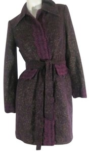 Bisou Bisou Deep Purple Blazer