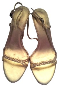 Banana Republic Gold tone Sandals