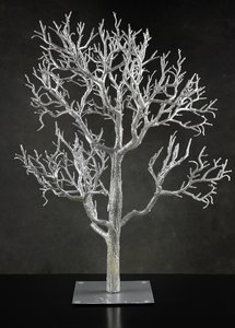 """Save On Crafts Silver Wishing Tree (32"""") Reception Decoration"""