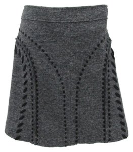 Philosophy di Alberta Ferretti Skirt Gray and black