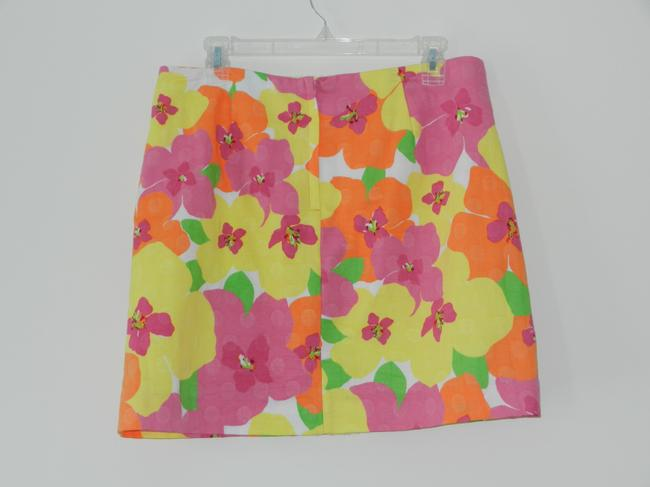 Lilly Pulitzer Mini Skirt Floral
