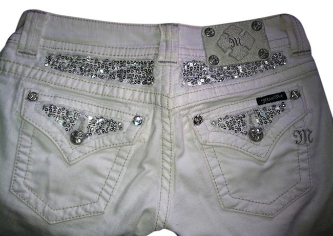Item - White Light Wash Boot Cut Jeans Size 26 (2, XS)