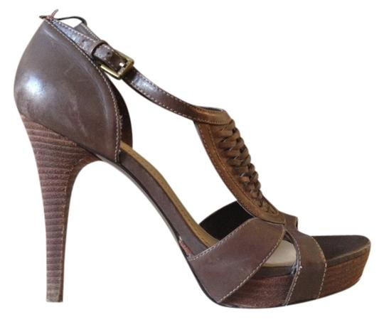 Guess By Marciano Brown Sandals