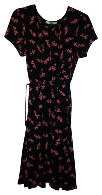 Oasis short dress Black and red on Tradesy